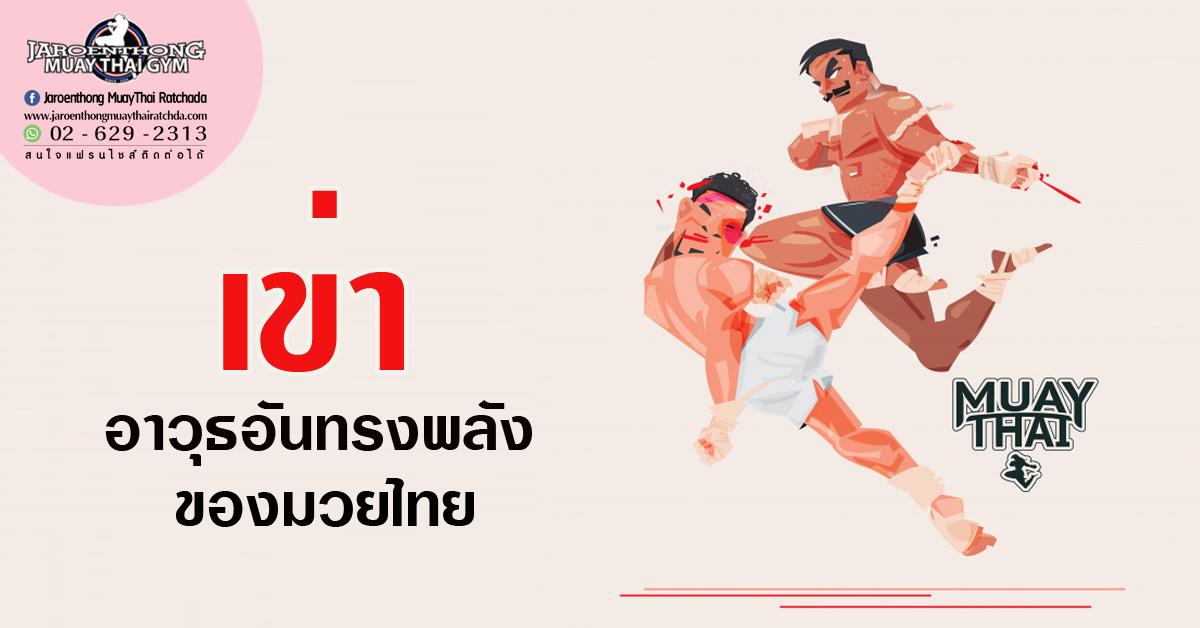 เข่า อาวุธอันทรงพลังของมวยไทย